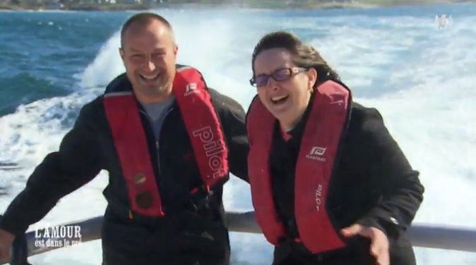 Balade en mer pour Guillaume et Sandrine
