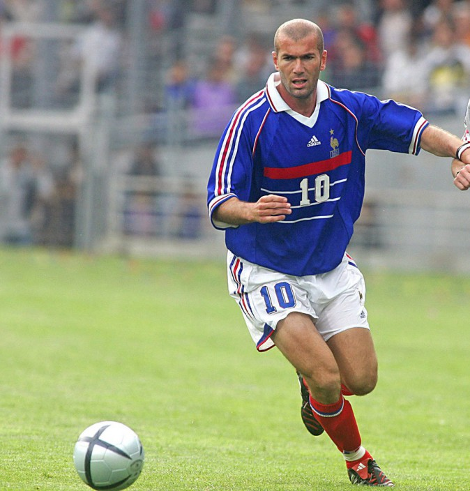 Zinedine Zidane (108 sélections)
