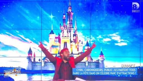 L'équipe de TPMP à Disney, l'anniversaire complètement fou de Cyril Hanouna !