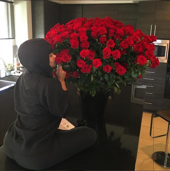 Photos : L'incroyable Saint-Valentin de Blac Chyna et Rob Kardashian!