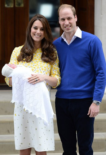 Photos : la fille de Kate Middleton et du prince William monopolise les Unes de la presse britannique !