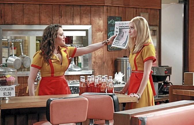 """Les images de la série """"2 broke girls"""" avec Kat Dennings et Beth Behrs !"""