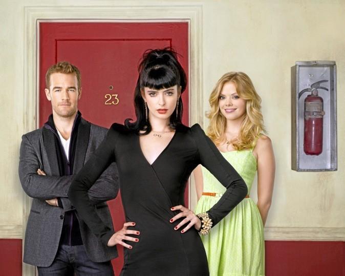 Les images de la série Don't Trust the B**** in Apartment 23 avec James Van Der Beek et Krysten Ritter !