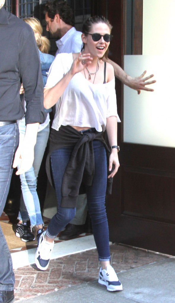 Kristen Stewart à New-York le 9 août 2015