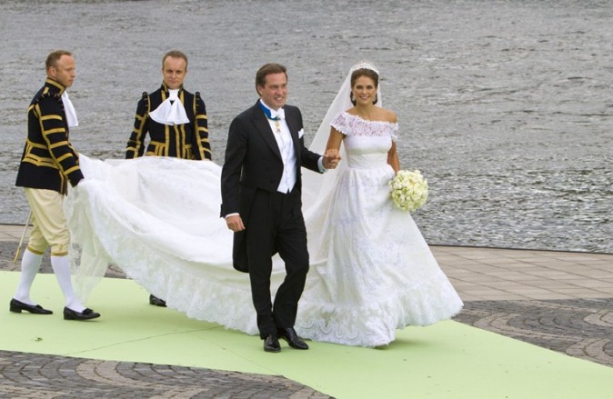 Le mariage de la princesse Madeleine de Suède et Chris O'Neill à Stockholm le 8 juin 2013