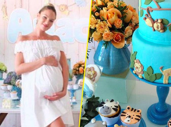 Le top Candice Swanepoel partage quelques clichés de sa baby shower !