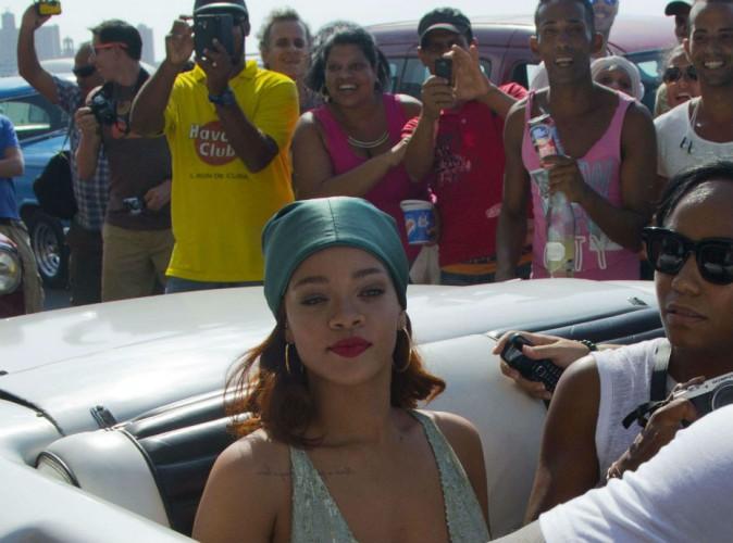 La visite surprise de Rihanna à Cuba déchaîne les foules !