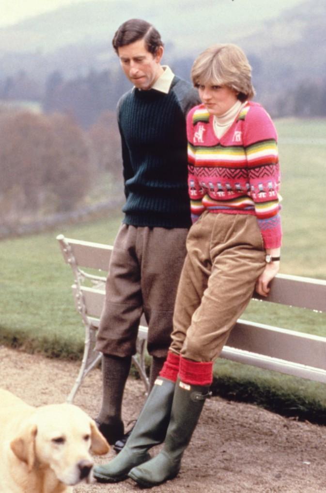 Lady Di et le prince Charles