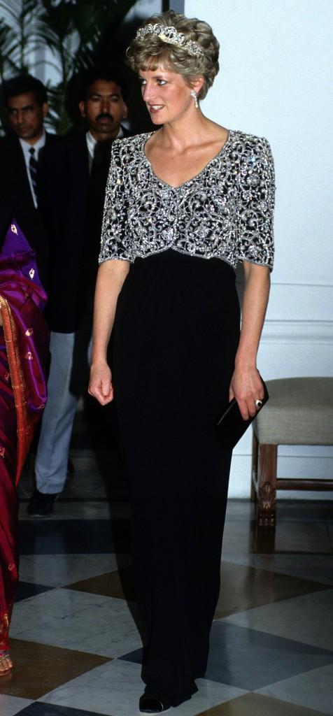 Lady Diana le 01/02/1992