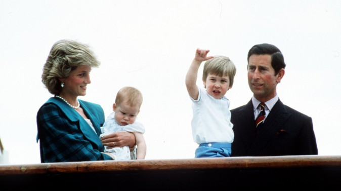 Le couple royal en mai 1985