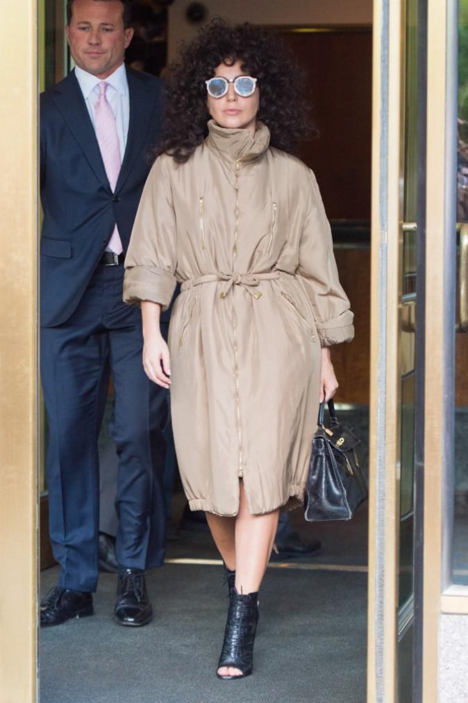 Lady Gaga dans les rues de New York le 28 juillet 2014