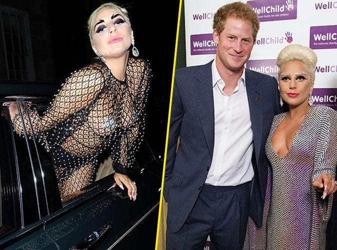 Lady Gaga et le Prince Harry le 8 juin 2015