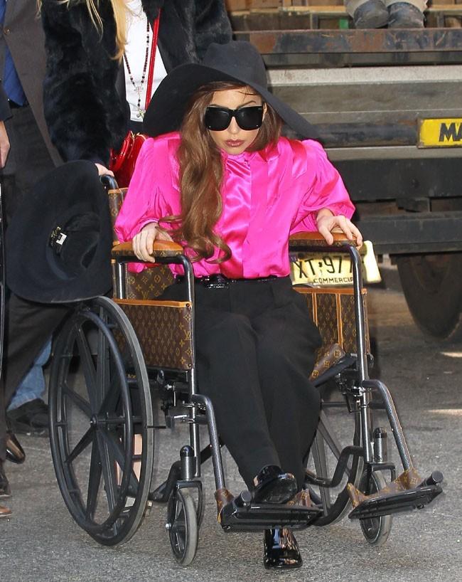 Lady Gaga à New-York le 3 avril 2013