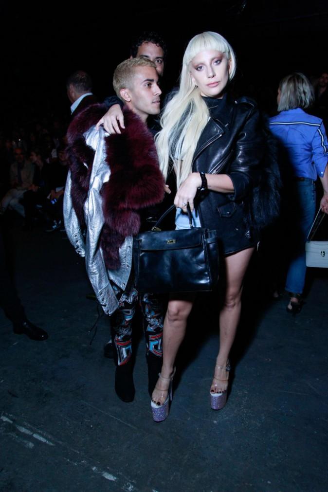 Lady Gaga à New York le 12 septembre 2015