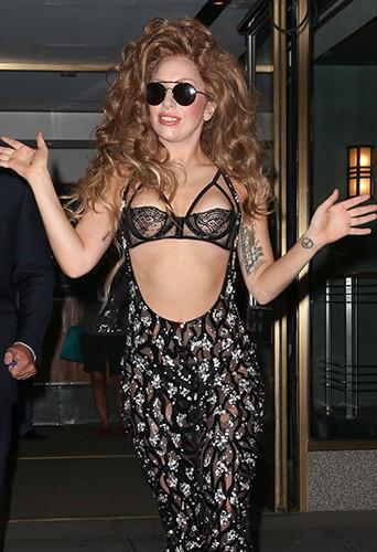 Lady Gaga à New-York le 26 août 2013