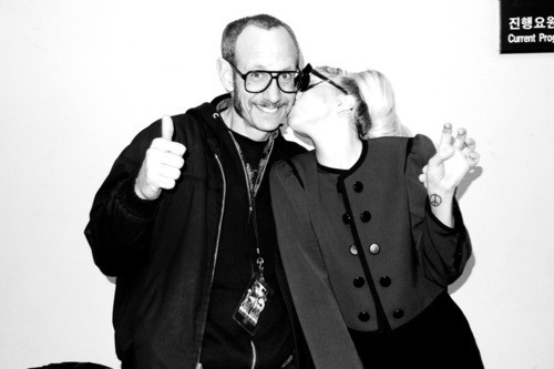 Avec Terry Richardson