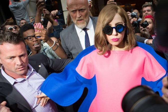 Lady Gaga le 22 septembre 2012 à Paris