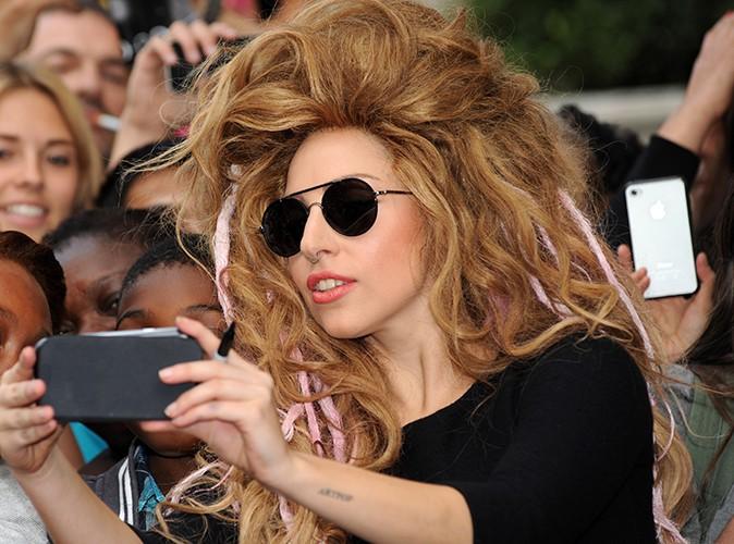 Lady Gaga à Londres le 30 août 2013