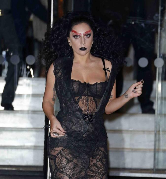 Lady Gaga : déjà prête pour Halloween ?