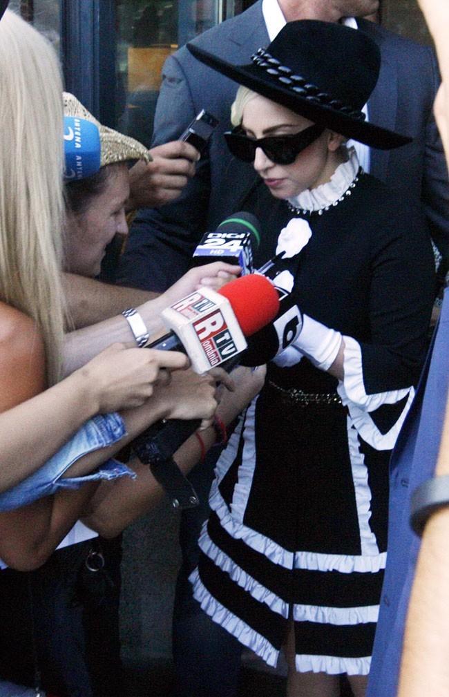 Lady Gaga le 16 août 2012 à Bucarest