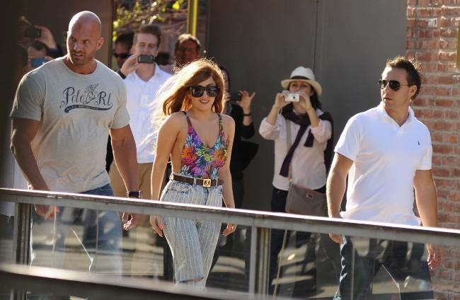 Lady Gaga le 14 novembre 2012 à Buenos Aires