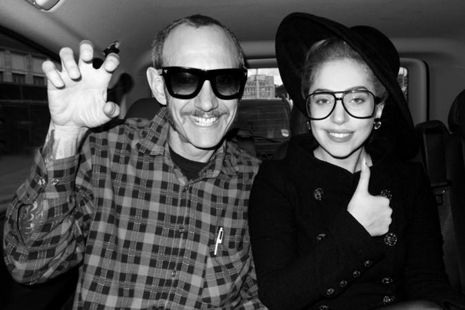 Lady Gaga shootée par Terry Richardson