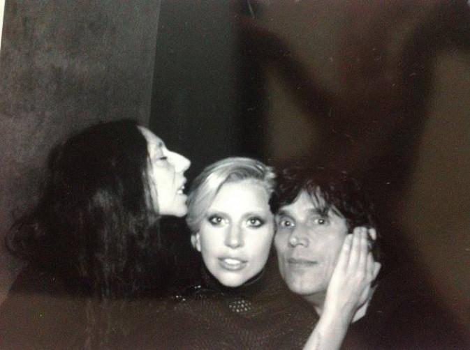 Lady Gaga et le duo Inez and Vinoodh.