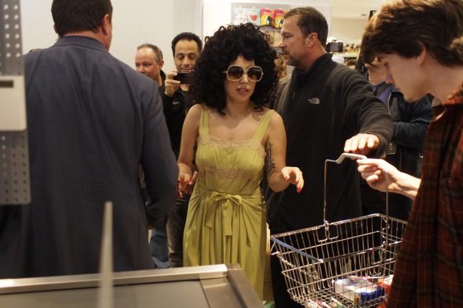 Lady Gaga à Cologne le 6 octobre 2014