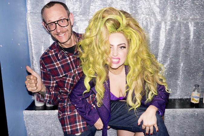Lady Gaga shootée par Terry Richardson dans les coulisses de ses concerts au Roseland Ballroom de New-York