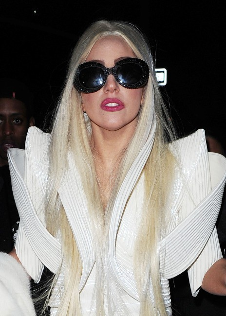 Lady Gaga, New York, 14 décembre 2012