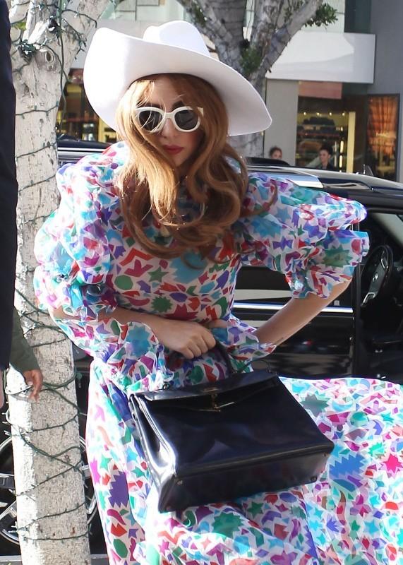 Lady Gaga le 21 janvier 2013 à Los Angeles