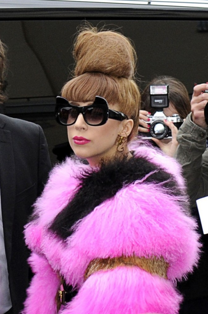 Lady GaGa : rose bonbon à Stockholm