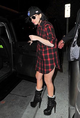 Lady Gaga à New-York le 1er novembre 2013