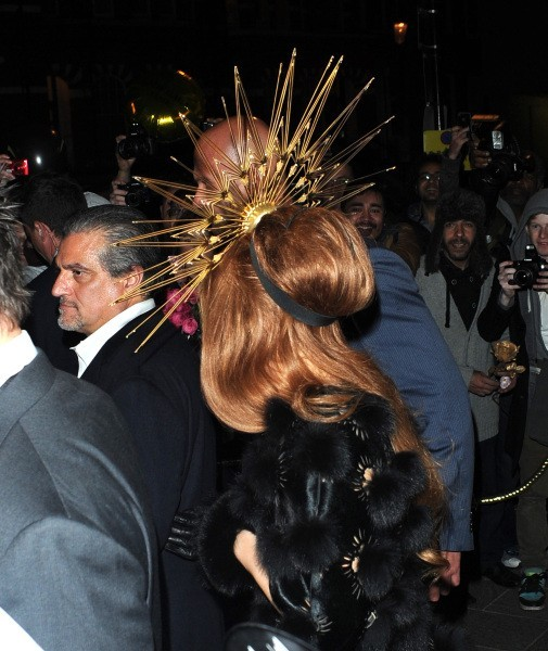 Lady Gaga à Londres, le 7 octobre 2012.
