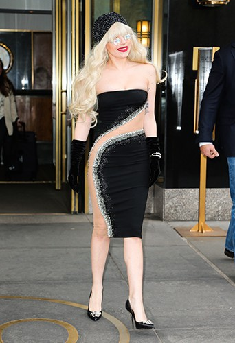 Lady Gaga à New-York le 15 novembre 2013