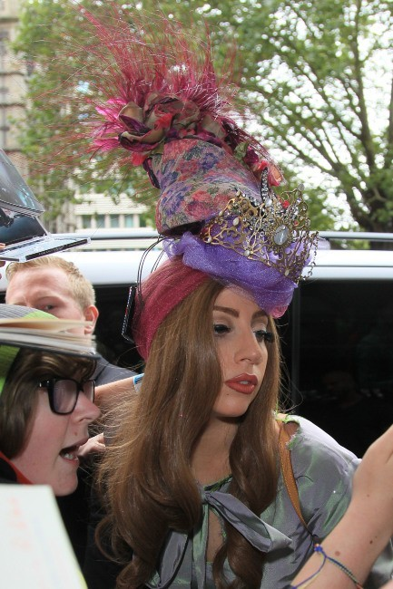 Lady Gaga, Londres, 10 septembre 2012
