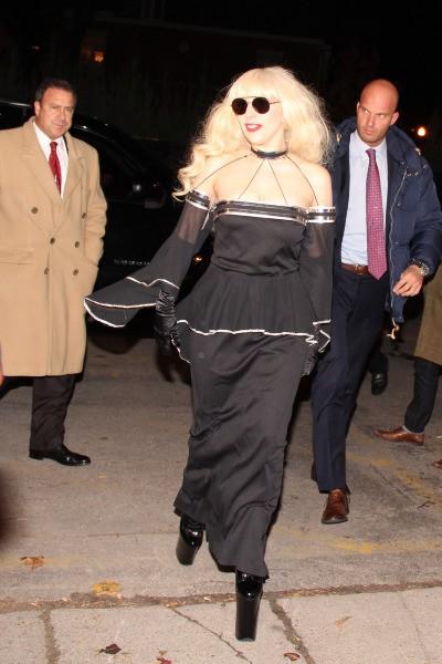 Lady Gaga à Toronto, le 18 novembre 2013.