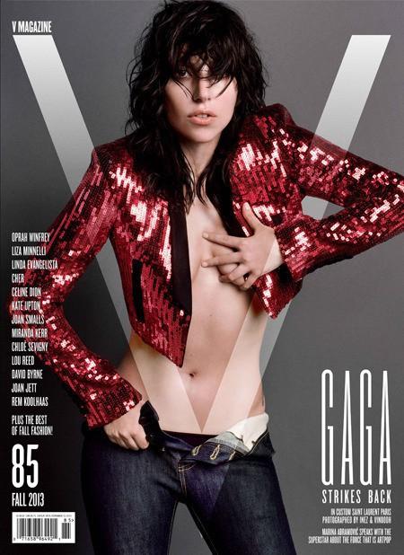 Lady Gaga en couverture du nouveau numéro de V Magazine !