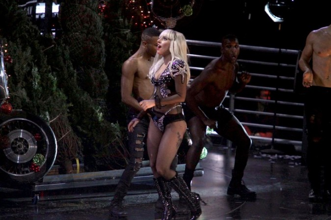 Tout le Madison Square Garden a dansé avec elle !