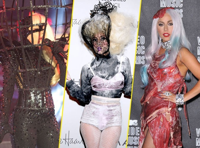 Photos : découvrez les looks les plus fous de Lady Gaga !