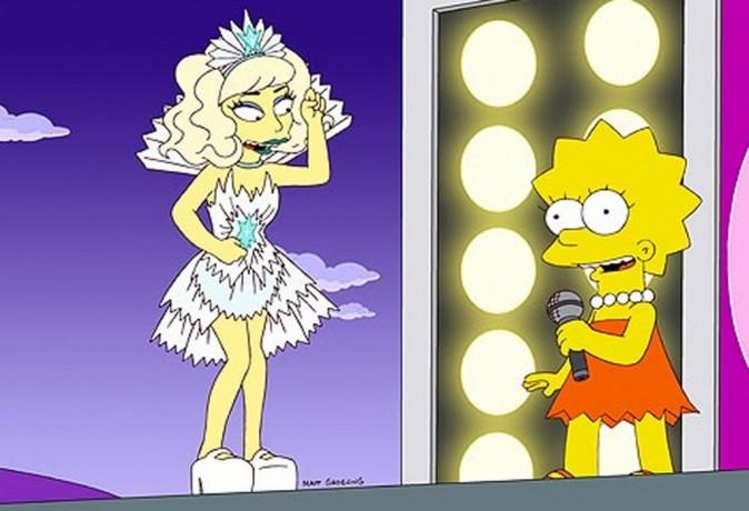 Sur scène avec Lisa