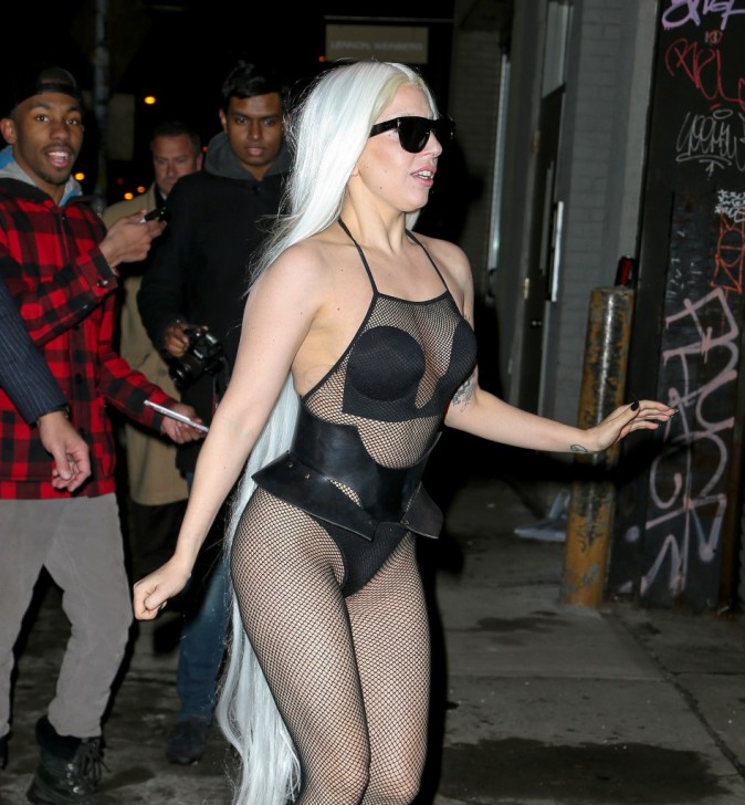 Lady Gaga hier à New York