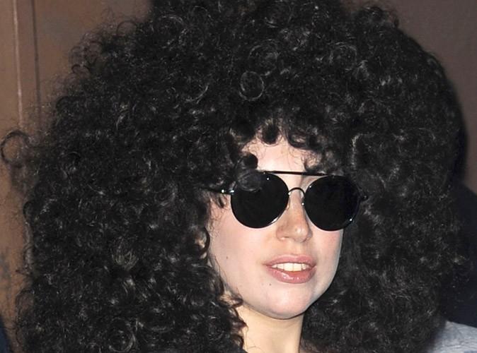 Photos : Lady Gaga : retour dans les années 80 toujours avec sa coupe afro !