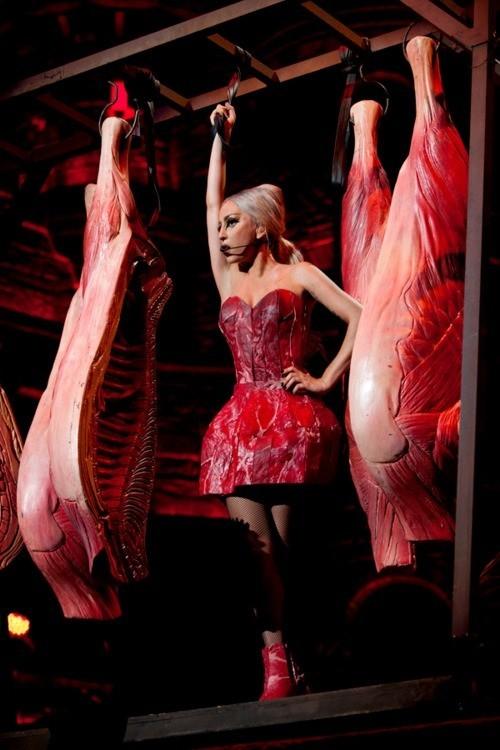 La viande et Gaga, grande histoire d'amour...