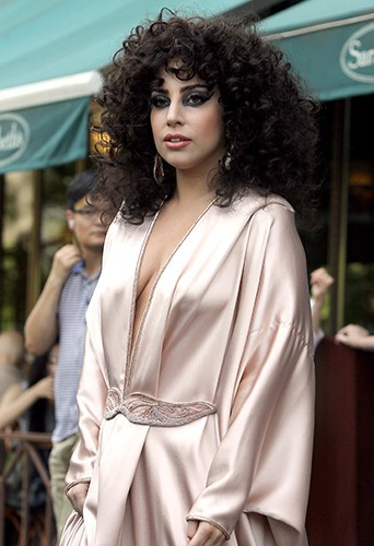Lady Gaga à New York le 16 juin 2014