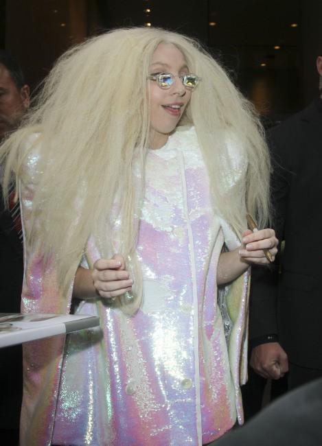 Lady Gaga en promo à New York, le 12 novembre 2013.