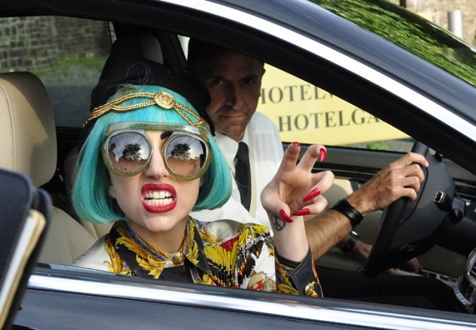 La bête Lady Gaga en Allemagne !