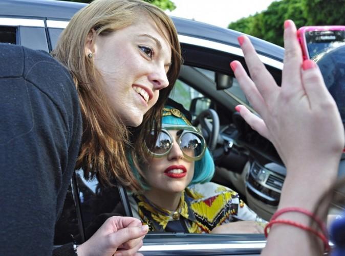 Poser avec Lady Gaga, une chance qui n'est pas donnée à tout le monde !