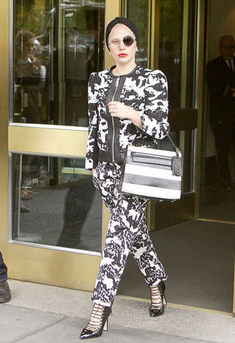 Lady Gaga à New York le 2 novembre 2015