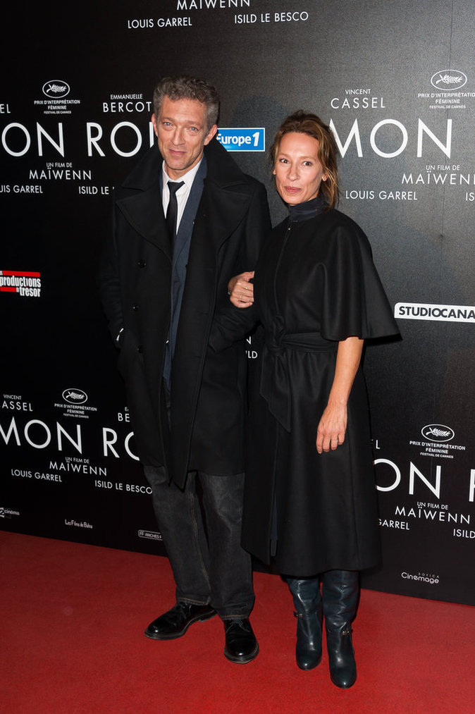 Vincent Cassel et Emmanuelle Bercot le 12 octobre 2015